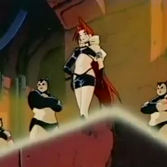 Rouge interrogates the heroes.