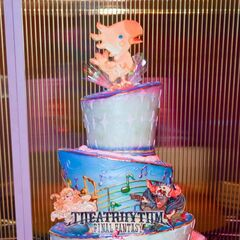 Cake made for E3 2012 to celebrate the <i>Final Fantasy 25th Anniversary</i>.