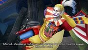 Kefka in game