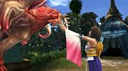 FFX HD Yuna and Valefor