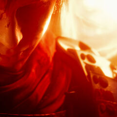 Ace during <i>Final Fantasy Type-0 HD</i> secret cutscene.