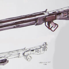 A concept of the <i>Serpent (</i>Nocturne<i>) Rifle</i>.