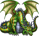 FF4PSP Green Dragon