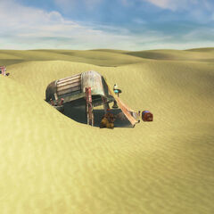 Sanubia Sands in <i>Final Fantasy X</i>.