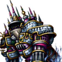 Alexander in <i>Final Fantasy VI</i> (iOS).