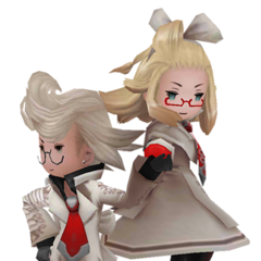 Ringabel and Edea as Spiritmasters in <i><a href=