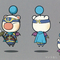 Artwork of the moogle of Class First.