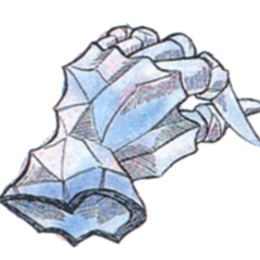 Concept art of Crystal Gloves from <i><a href=