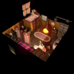 Priscilla's room.