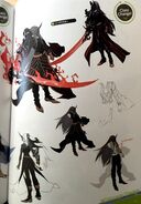 TMS concept art of Navarre as a Sword master class