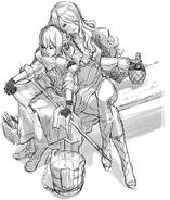 Camilla Berkua Sketch