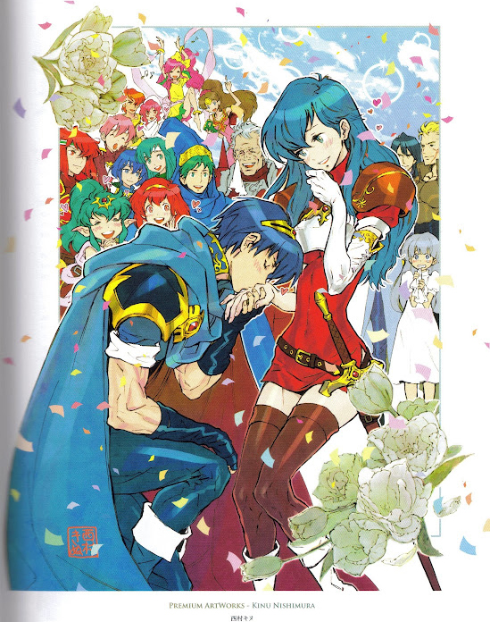 Marth And Caeda