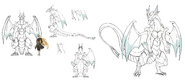 White dragon concept 2