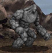 Stone Golem battle