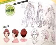 TMS (Cinematic) concept art of Touma
