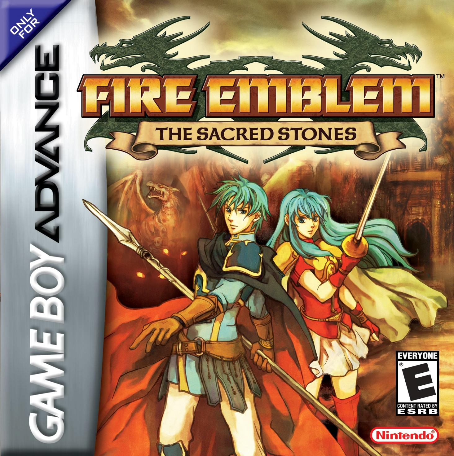 Fire Emblem: The Sacred Stones game art