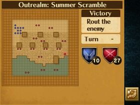 Summer Scramble Map