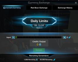 Credits Exchange