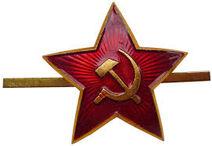 A soviet star