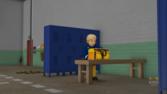 Fire station lockers