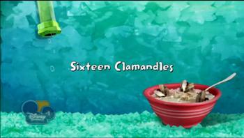 Sixteen Clamandles title card
