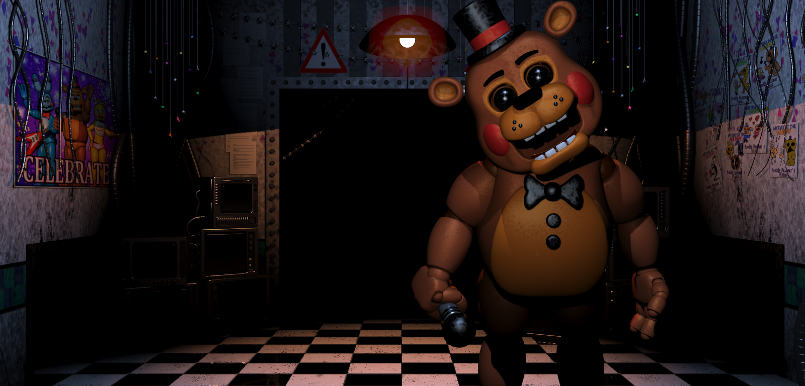 Old Freddy Toys : Five nights at freddys toy models