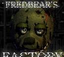 Five Nights at Freddy's - Fredbear Factory