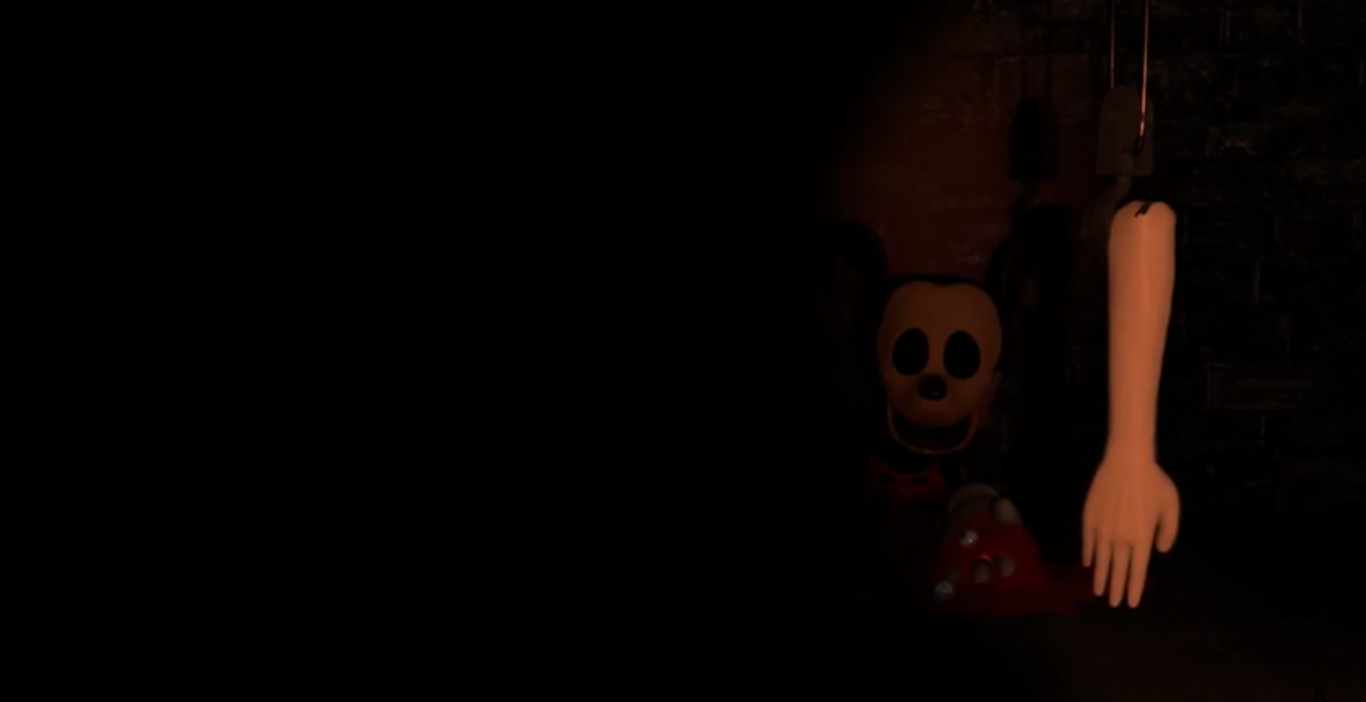 Five Nights At Treasure Island Title Screen