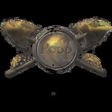 Poop badge
