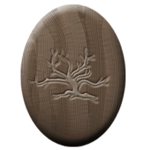 White oak badge