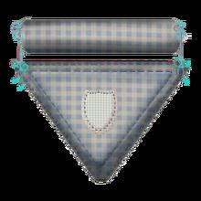 Cotton badge