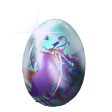 Crystal unicorn egg