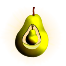 Pear Badge