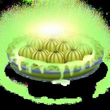 Radioactive pumpkin pie