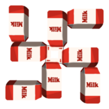 Milk badge