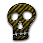 035697-yellow-black-striped-grunge-construction-icon-culture-skull-solid