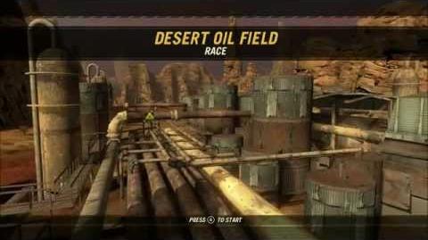 Desert Oil Field. Overview