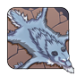 Winter Wolf Pelt