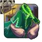 Emerald Green Satin Tunic