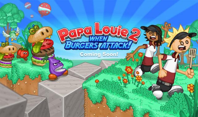 papa louie 1 when burgers attack