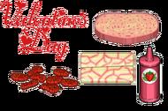 Valentine's Day Ingredients - Cheeseria