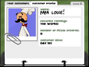 Papa's Pizzeria Papa Louie