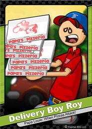016 delivery boy roy