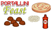 Portallini Feast Ingredients - Cheeseria