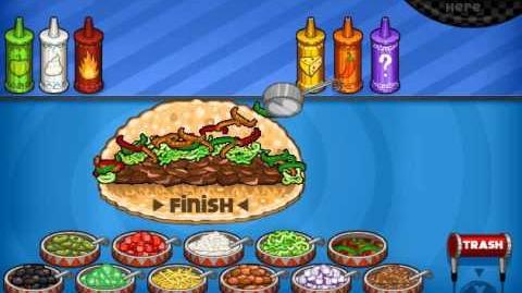 My order in Papa's Taco Mia