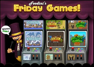 Foodini Friday Games