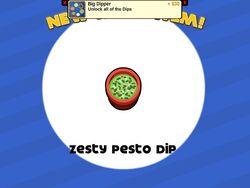 Unlocking zesty pesto dip
