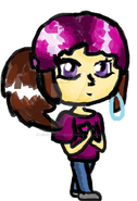 Mindy chibi by peggyandprudence-d6ie4ew