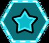 Point Stars-badge