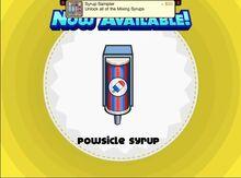Unlocking powsicle syrup
